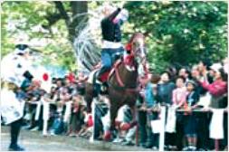 藤森祭 駈馬神事